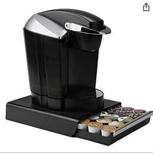 K Cup / keurig storage drawer black holder k-cups